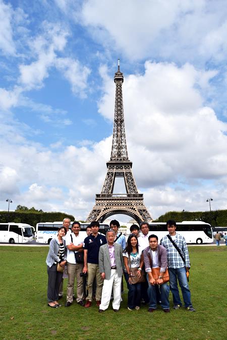 過去の旅行先 フランス